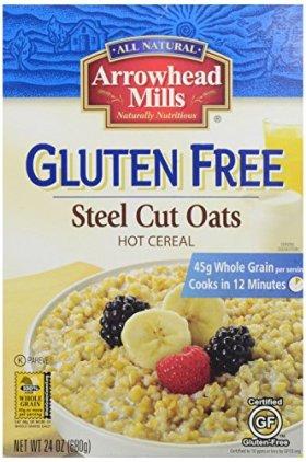 Arrowhead Mills Gluten Free Steel Cut Oats Hot Cereal, 24 Ounce