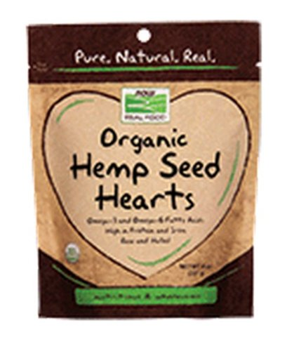 Now Foods Organic Hemp Seed Hearts, 8 Ounce