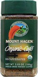 Mount Hagen Freeze Dried Instant Decaf Coffee – 3.53 oz
