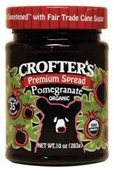 Crofters Organic Fruit Spread Pomegranate — 10 oz