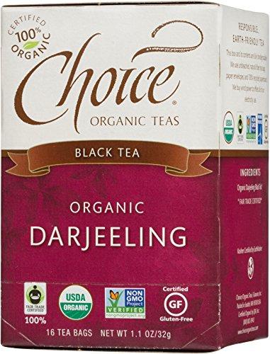 Choice Organic Darjeeling Tea, 16 Count Box