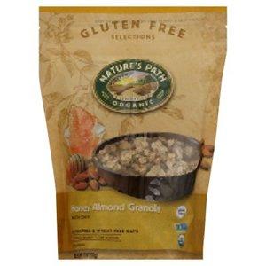 Natures Path Organic Gluten Free Honey Almond Granola 11 Ounces (Case of 8)