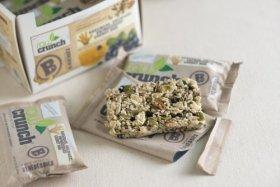 Raw Crunch Bars Organic Blueberry — 12 Bars