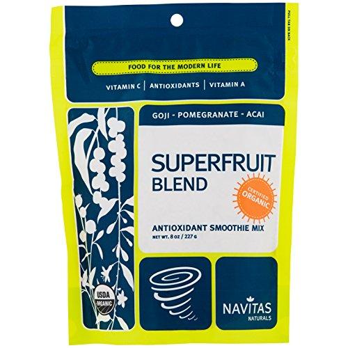Navitas Naturals Organic Superfruit Blend Antioxidant Smoothie Mix — 8 oz