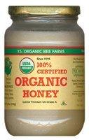 YS Organic Bee Farms CERTIFIED ORGANIC RAW HONEY 100% CERTIFIED ORGANIC HONEY Raw, Unprocessed, Unpasteurized – Kosher 32oz