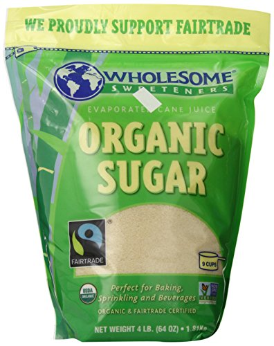 Wholesome Sweeteners, Organic Cane Sugar, 64 Oz