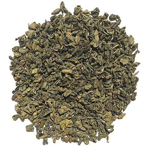 Organic Pinhead Gunpowder Green Tea, Loose Leaf Bag, Positively Tea (1 lb.)