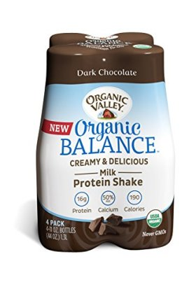 Organic Valley Balance, Dark Chocolate, 11 Ounce (Pack of 4)