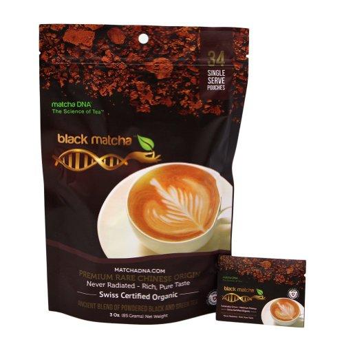 3 Oz Organic Black Matcha Tea – USDA ORGANIC