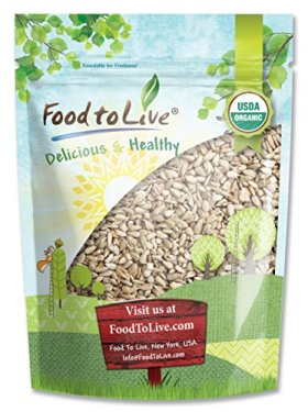 Food To Live CERTIFIED ORGANIC SUNFLOWER SEEDS (Raw, No Shell) (2 Pounds)
