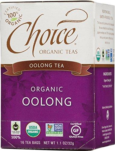 Choice Organic Oolong Tea, 16 Count Box