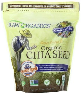 Garden of Life RAW Organics – Organic Chia Seeds, 12 oz
