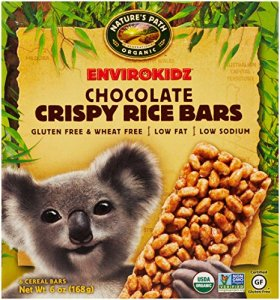 EnviroKidz Organic Koala Crispy Rice Bars, Chocolate, 6 Count