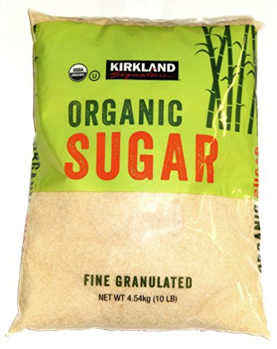 Kirkland Signature Organic Fine Granulated Sugar, 10 lb