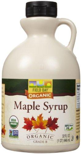 Field Day Organic Grade B Maple Syrup – 32 oz