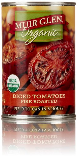 Muir Glen Organic Diced Tomatoes, Fire Roasted, 14.5 Oz