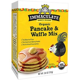 Immaculate Baking Mix, Organic Pancake and Waffle, 26.0 Ounce