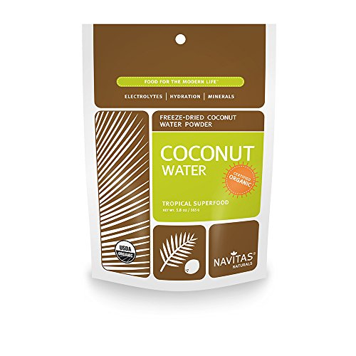 Navitas Naturals Organic Coconut Water Powder, 5.8-Ounce Pouches
