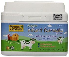 Vermont Organics Baby Formula – Powder – 23.2 oz