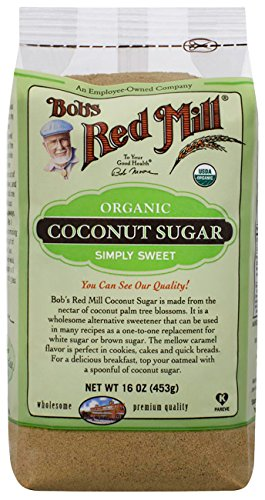 Organic Coconut Sugar 16 oz (453 grams) Pkg