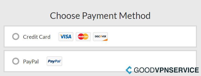 Betalingsmogelijkheden - OverPlay VPN