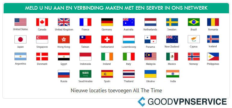 Server locaties - IronSocket