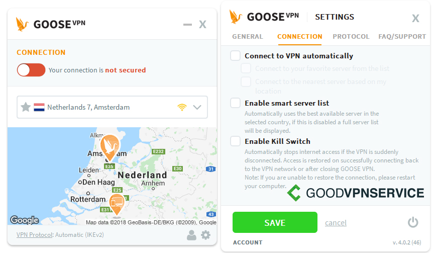Goose Vpn Review 2019 Goodvpnservicecom