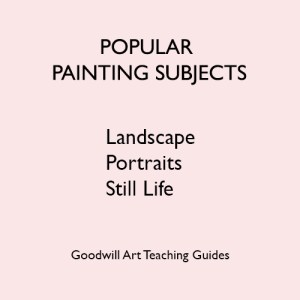 Popular Painting Subjects