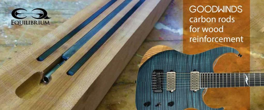 carbon fiber rods for wood reinforcement