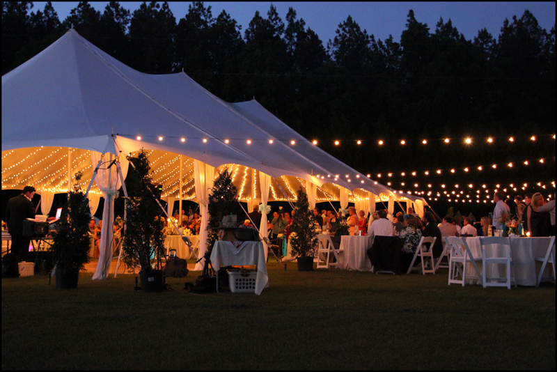 Father Of The Bride Tent Lights