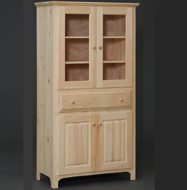 amish made kitchen cabinets cart diy built 4 door pantry cabinet