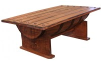 Bourbon Barrel Coffee Table