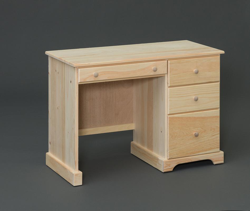 4 Drawer Pine Desk