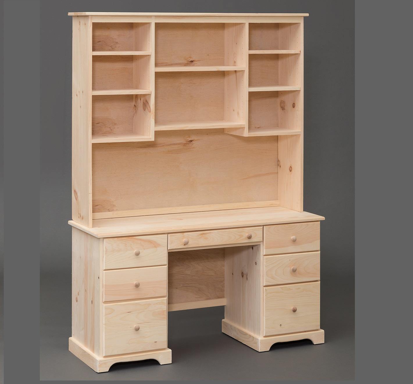 Amish Built Shaker Pine Desk