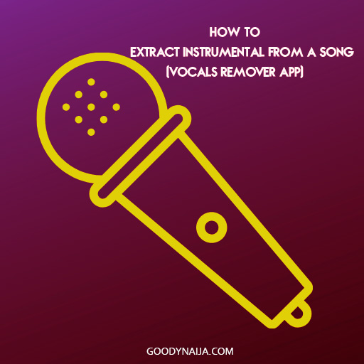 How To Extract Instrumental from a Song (Vocals Remover App)