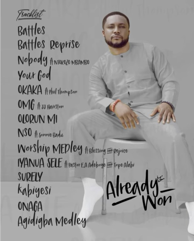 "Tim Godfrey releases new Album ""Already Won"" Listen!"