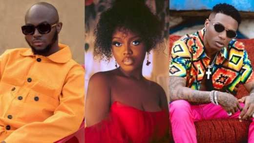 Watch Wizkid, King Promise & Gyakie Having A Good Time In Ghana