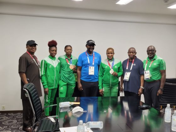 Nigerian Government Rewards Ese Brume & Blessing Oborududu