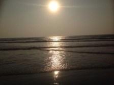 Sunset on Arambol beach