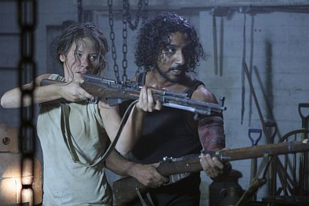 Kate and Sayid, forcing the writers at gunpoint to make sense for achange