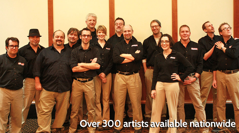 Artist Group - Caricature Artists