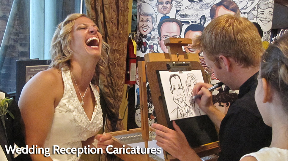 Bride Caricature - fun