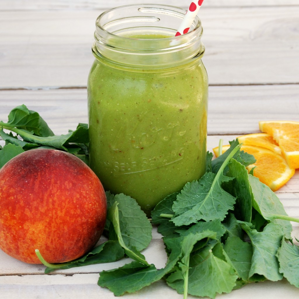 Life's A Peach Green Smoothie