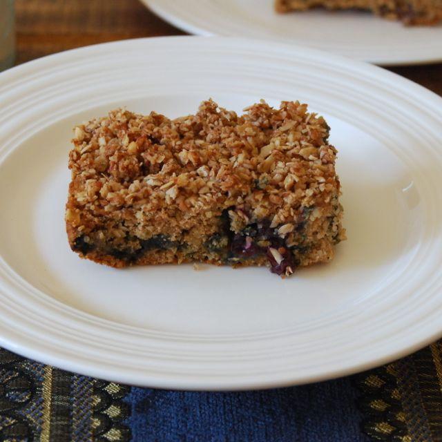Gluten Free Blueberry Breakfast Cake