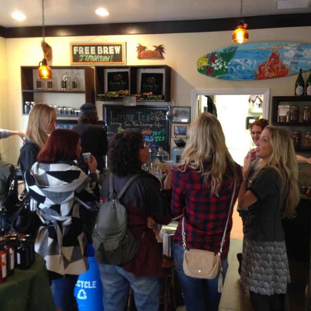 vegans in the hood at living tea brewing co