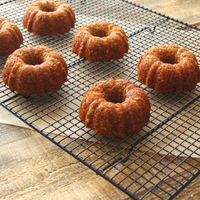 Gluten Free Orange Breakfast Cakes
