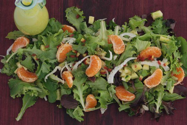 Spring Mandarin Fennel Salad