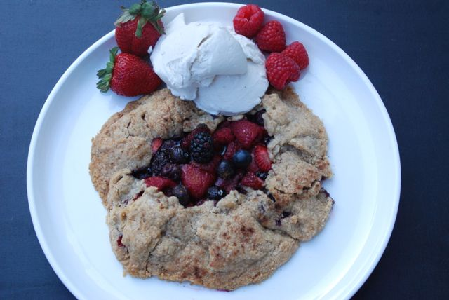 Spring Berry Galette