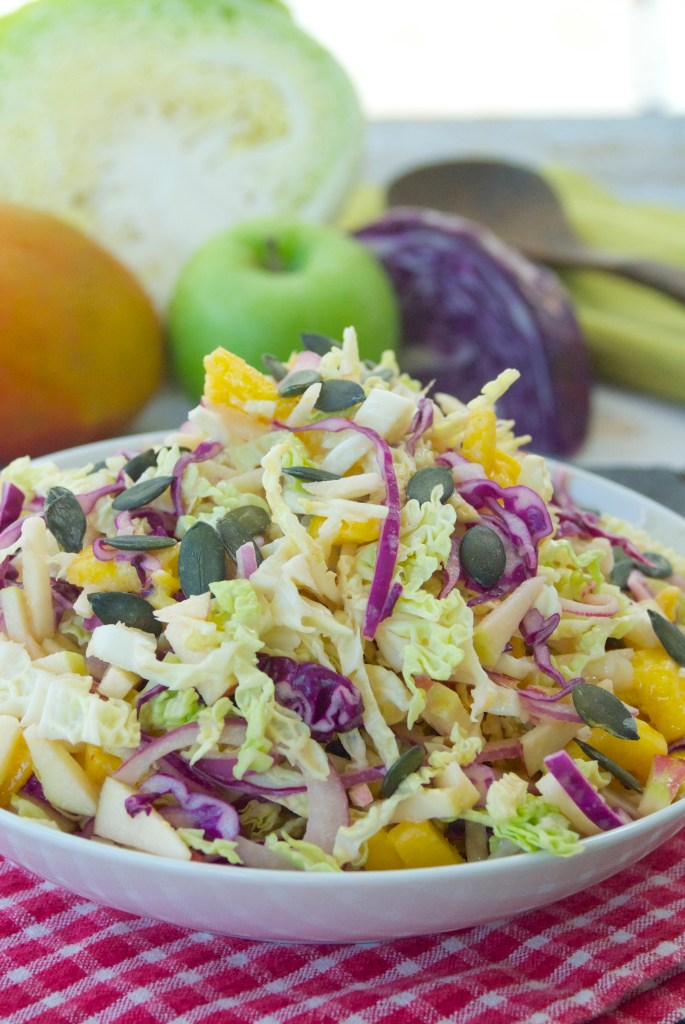 fall-apple-mango-slaw