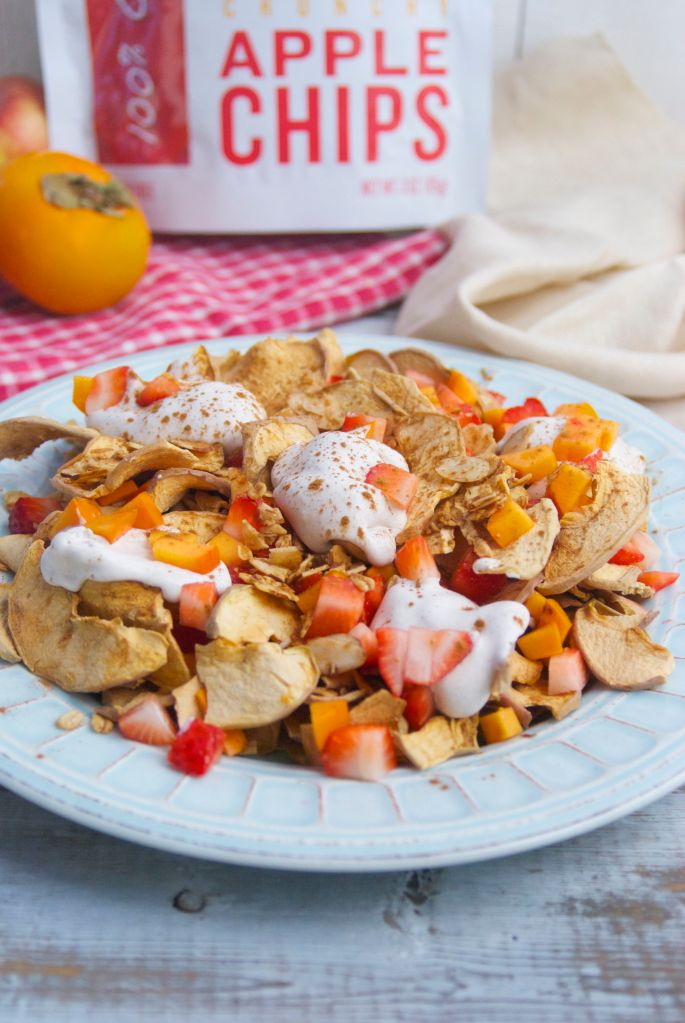 Crunchy Apple Nachos